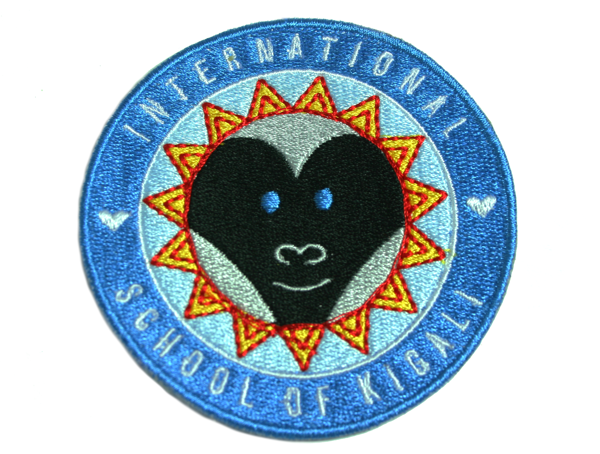 This patch was created for The International School of Kigali re-branding