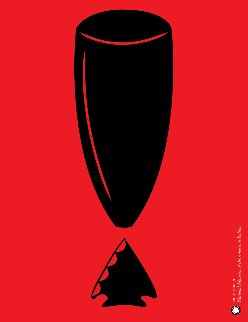 Poster designed for Smithsonian's National Museum of the American Indian